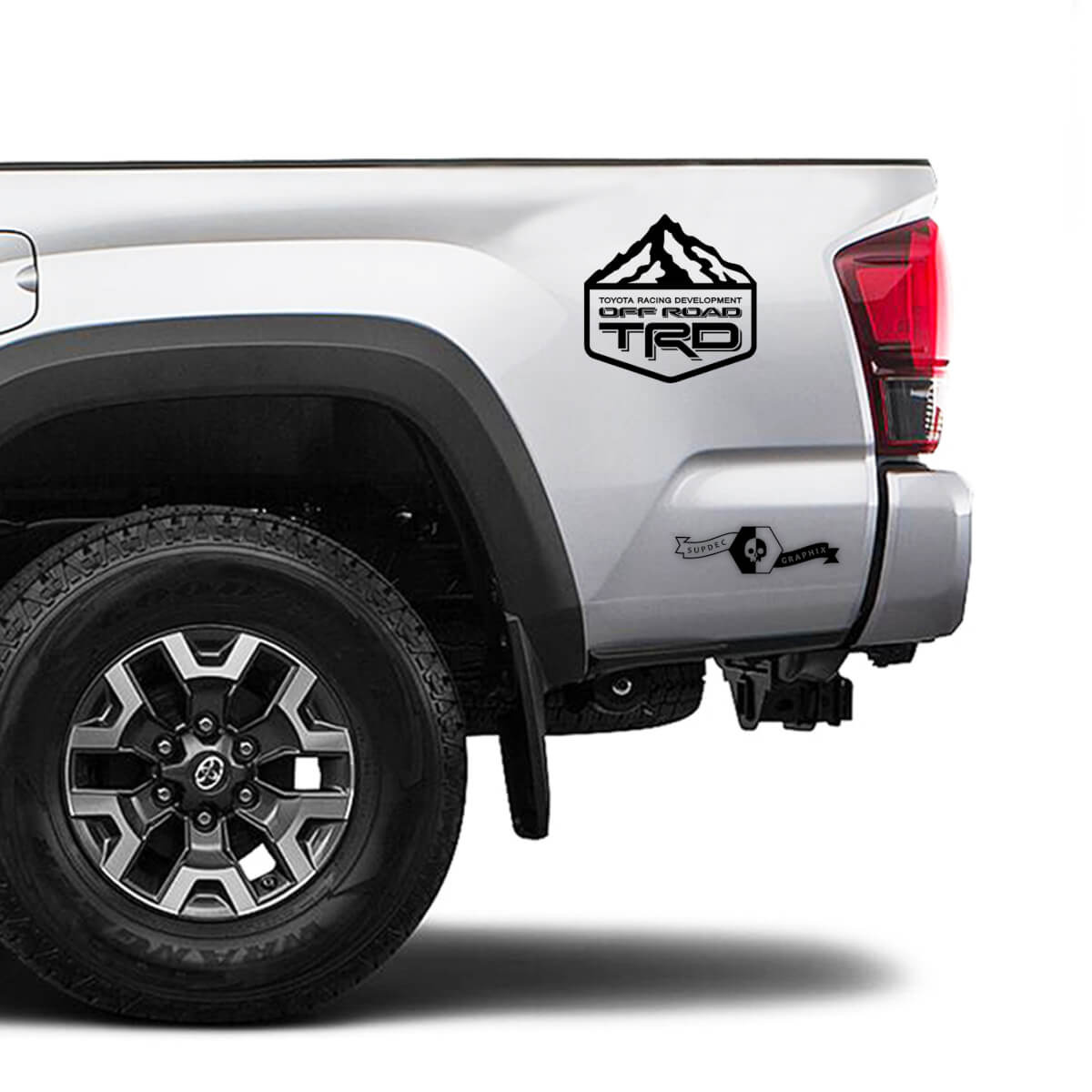 TRD Off Road TOYOTA Mountains Decals Stickers for Tacoma Tundra 4Runner Hilux side