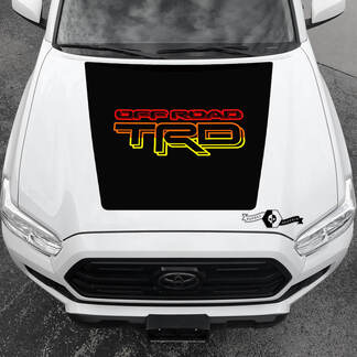 TOYOTA  Tacoma TRD Off Road Hood Decals Stickers for Tacoma Tundra 4Runner Hilux