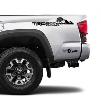 TRD 4x4 Off Road TOYOTA Sun Moon Mountains Decals Stickers for Tacoma Tundra 4Runner Hilux side