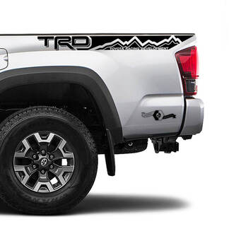 TRD Off Road TOYOTA Mountain Side Stripe Decals Stickers for Tacoma Tundra 4Runner Hilux