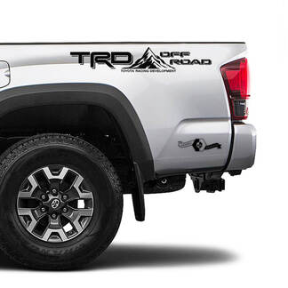 TRD Off Road TOYOTA Mountain Decals Stickers for Tacoma Tundra 4Runner Hilux side